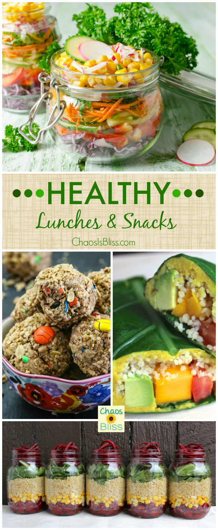 Whether you work from home or like to bring your lunch to work, here are small portion healthy lunches & snacks that will help you cut the calories!