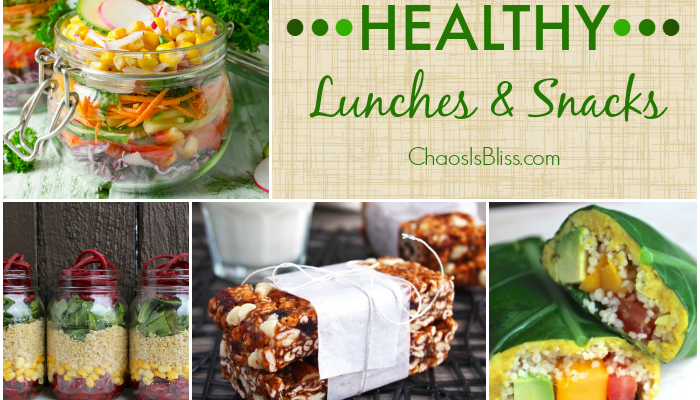 Healthy Lunches & Snacks when you Work from Home