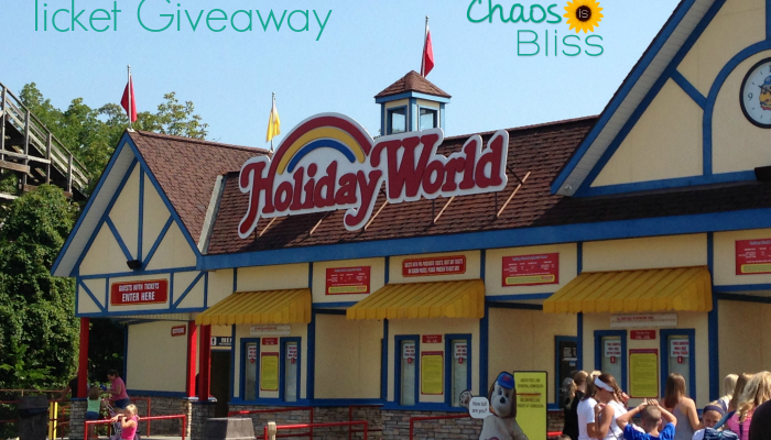 One Last Ride | GIVEAWAY of Holiday World Tickets