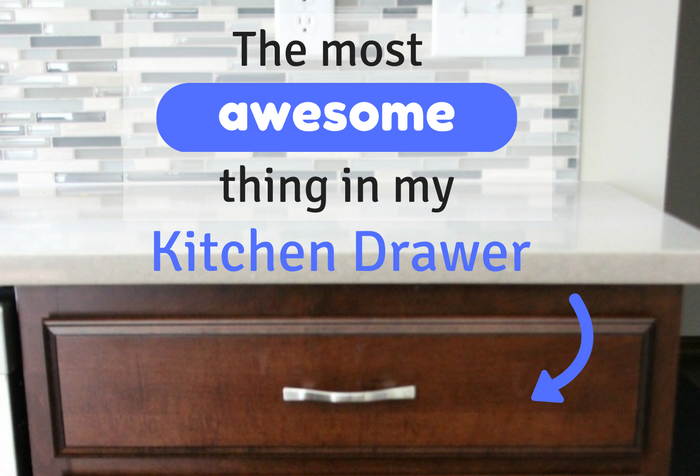 After our kitchen remodel, it was time to tackle kitchen organizing, starting with my silverware drawer!