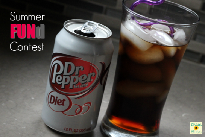 Summer FUNd contest with Diet Dr Pepper and Walmart