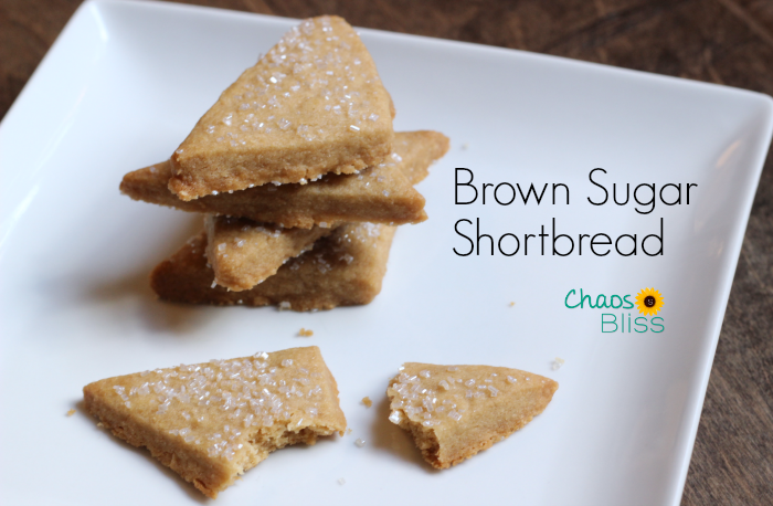 3-Ingredient Brown Sugar Shortbread is an easy cookie recipe for any time of year.