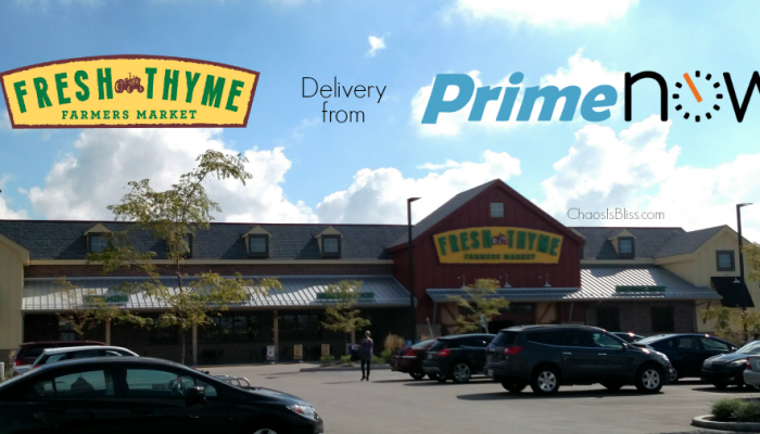 Amazon Prime Now | Fresh Thyme Delivery Service in Indianapolis