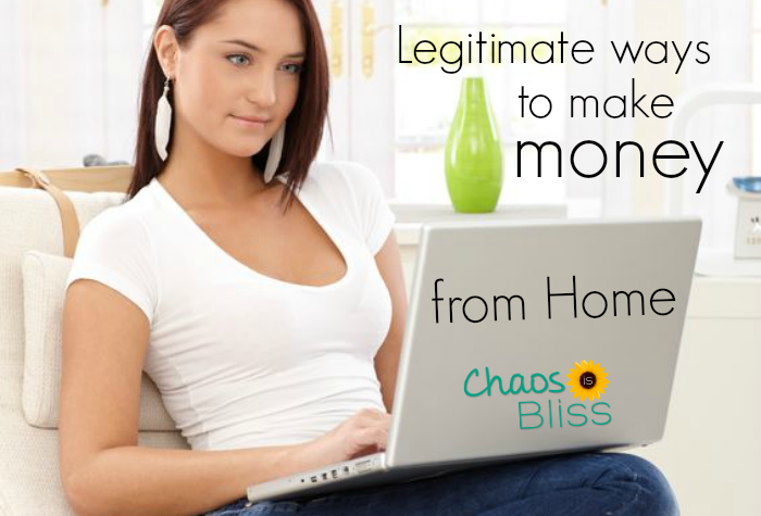 I've been looking for legitimate ways to make money from home, and this list is super helpful.
