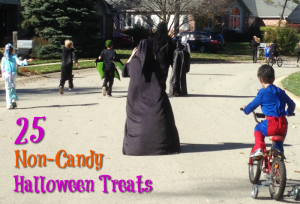 Looking to have a healthy Halloween? Here are 25 non-candy Halloween treats, to scare away cavities!