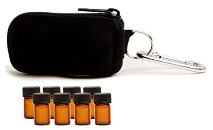 Essential oils keychain