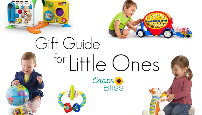 Looking for a baby gift for an infant, crawler, cruiser or walker? Here's a Gift Guide for Babies to Toddlers, with the most popular toys!