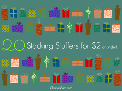 Here is a roundup of 30 Stocking Stuffers under $2.00 each, most with FREE shipping!