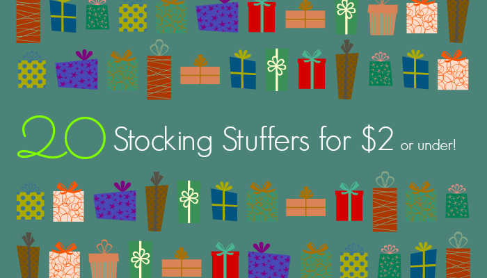 20 Stocking Stuffers Under $2.00 (Most Ship FREE!)