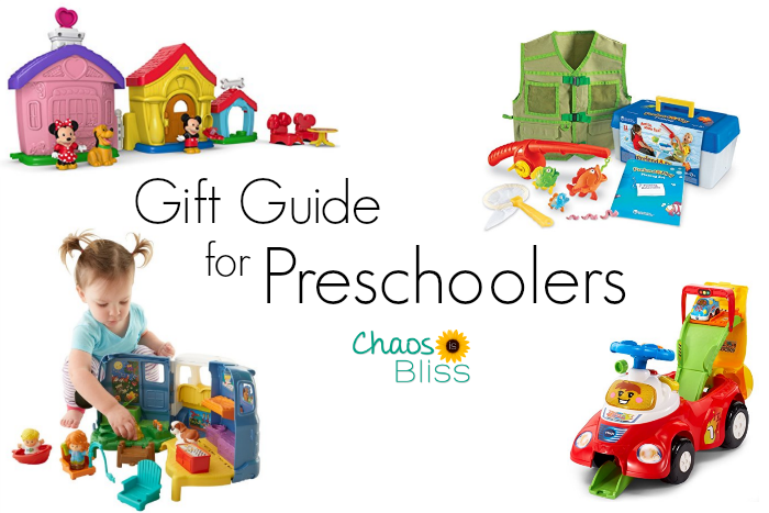There are so many great gifts for preschoolers out there! Here's a Gift Guide for Preschoolers, with the most popular toys!