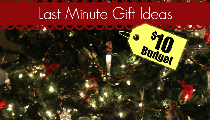 $10 Budget | Frugal Last Minute Christmas Gifts