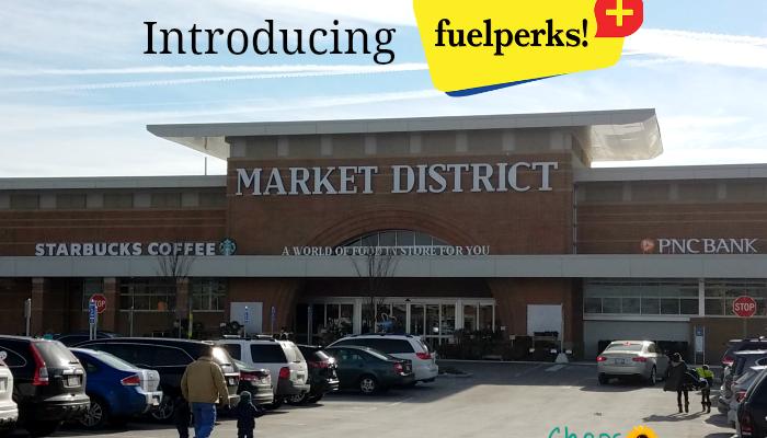 Market District & GetGo fuelperks + Program = Cash for You!