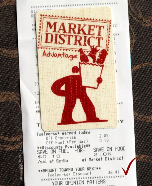 Spend even less at Market District and GetGo when you earn fuelperks +!