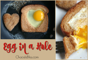 Want a fun breakfast recipe even the kids will eat? Egg in a Hole is an easy 5-minute breakfast recipe that's both delicious and nutritious!