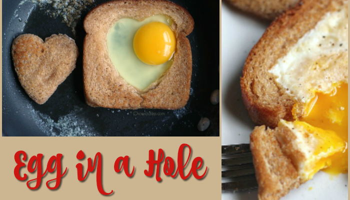 Egg in a Hole | 5-Minute Breakfast Recipe