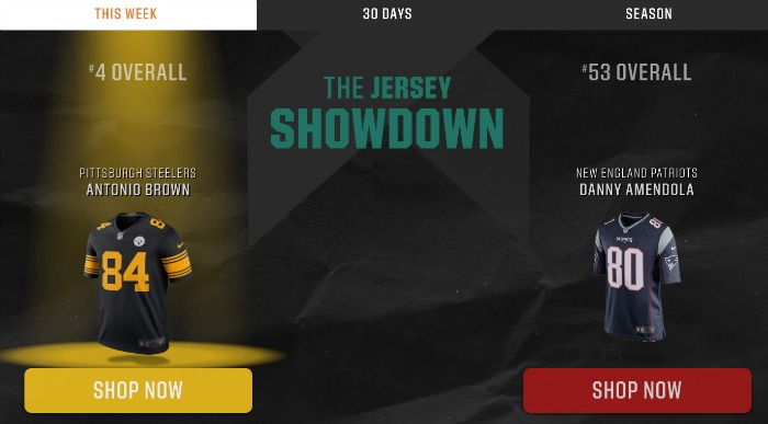 Jersey Showdown