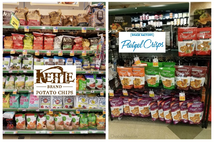 Kettle Brand Potato Chips and Snack Factory Pretzel Crisps