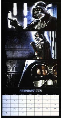 Star Wars Rogue One Calendar