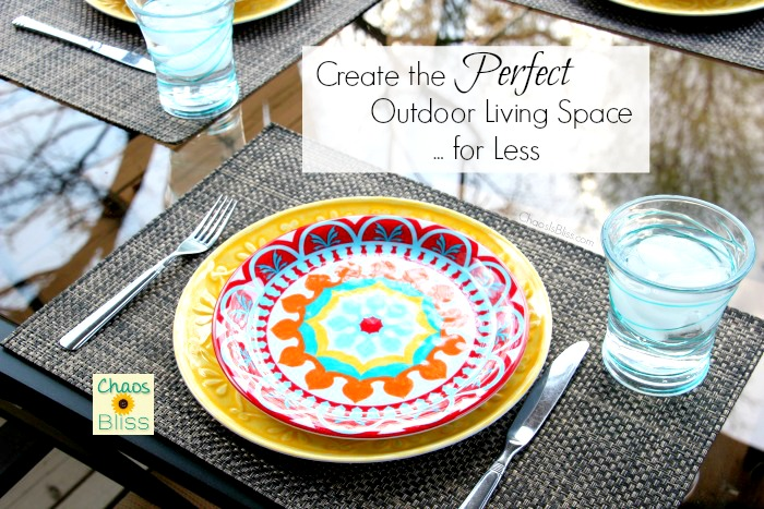 Follow these budget tips and fall in love with your backyard! There's no need to spend a fortune when you can have an outdoor living space for less.