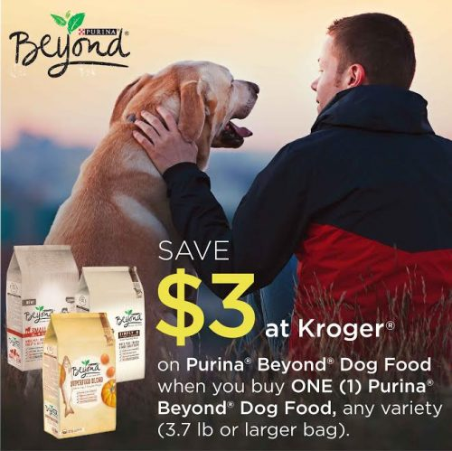 Purina Beyond coupon Kroger