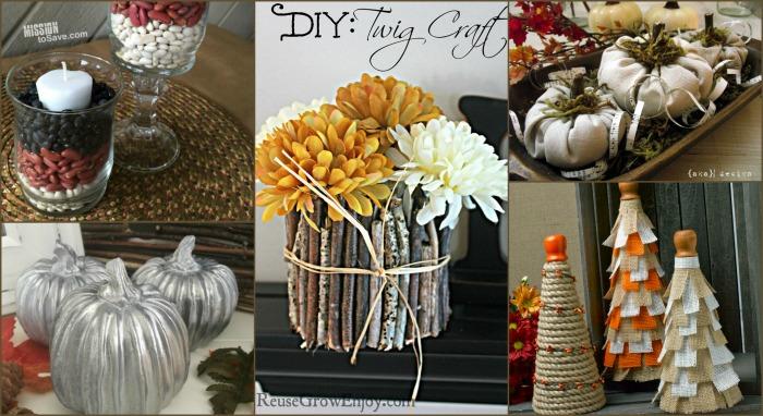 Gorgeous DIY Fall mantel decor