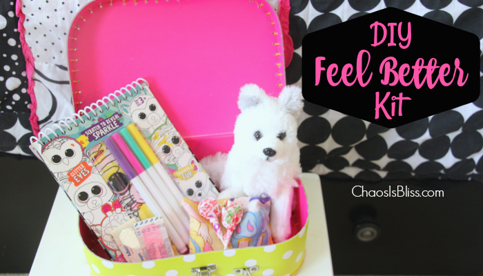 DIY Feel Better Kit | $25 Visa Gift Card Giveaway