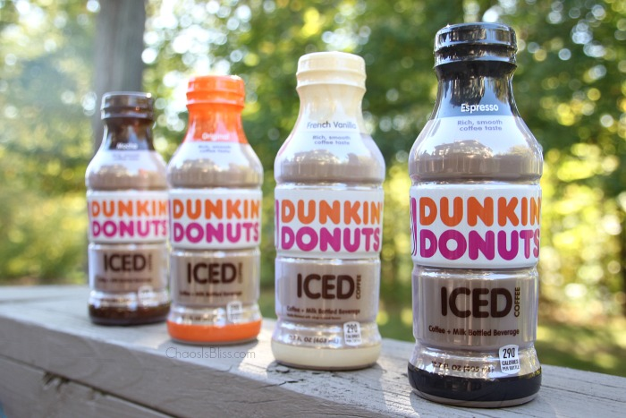 Dunkin Donuts Iced Coffee flavors