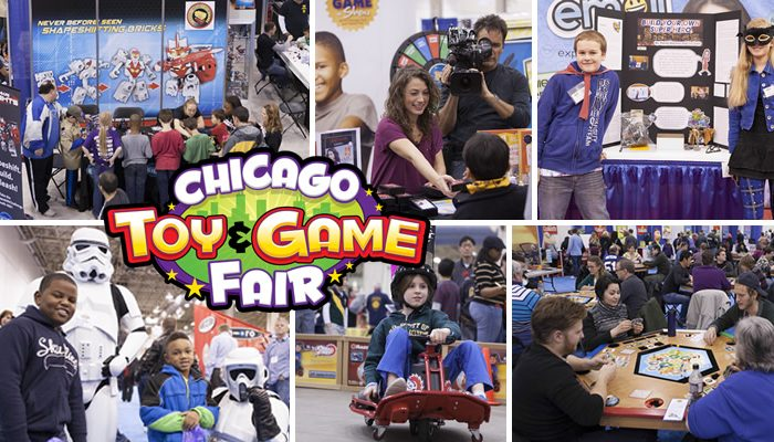 GIVEAWAY | Chicago Toy and Game Fair Family Admission
