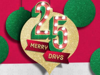 Kroger 25 merry days