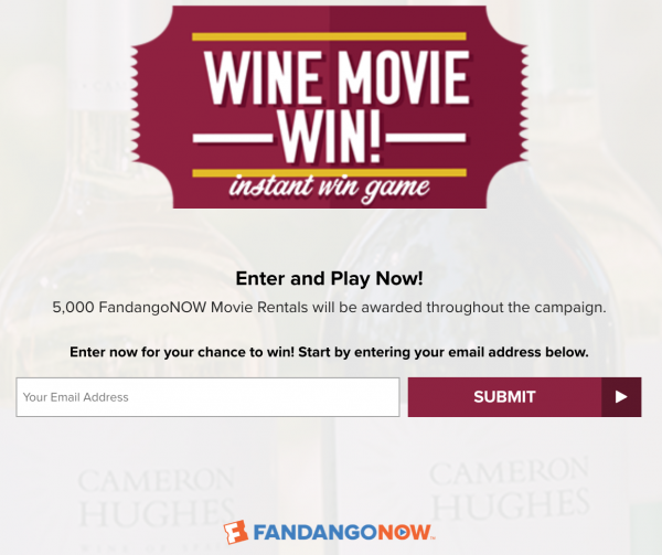 Cameron Hughes Wines Fandango Sweepstakes