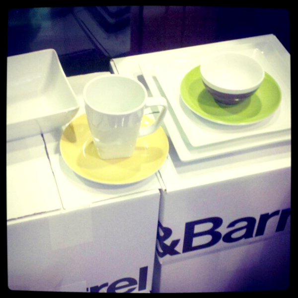 Crate and Barrel dishes