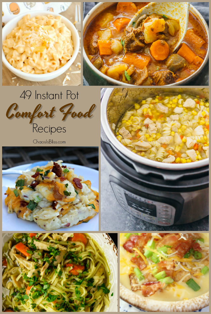 Instant pot comfort food recipes maing warm hearty and perfect for this season instant pot comfort food recipes forumfinder