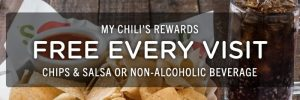 Today's Tips on B105.7: Freebies at Chili's, Free Target gift card & More
