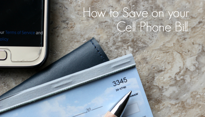 How to Save on your Cell Phone Bill