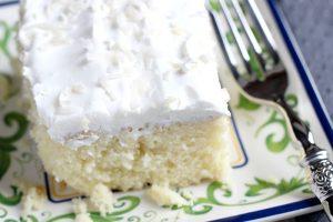 Coconut Cake Poke Cake