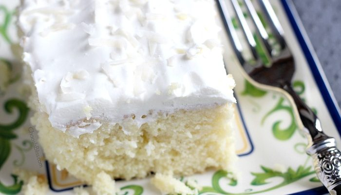 Coconut Cake | Poke Cake Recipe