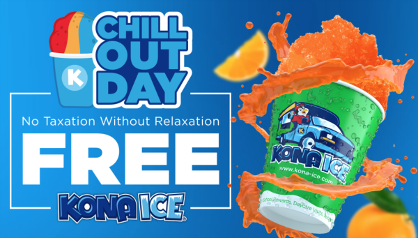 Kona Ice Tax Day Deal