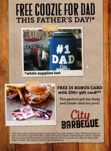 Today's Tips on B105.7: Father's Day Restaurant Deals