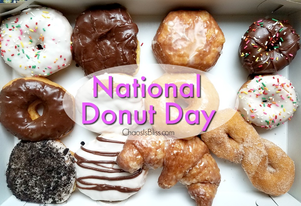 It's National Donut Day! Find out where you can snag a totally free donut all day today, and perhaps even over the weekend!