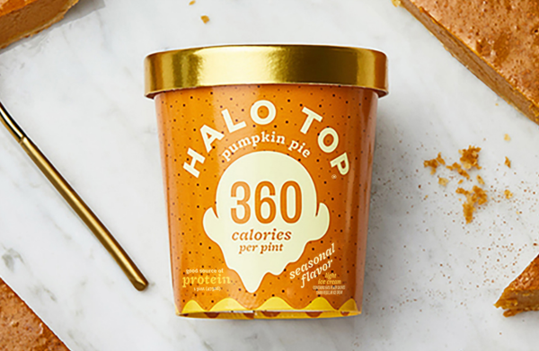 Free Halo Top pint