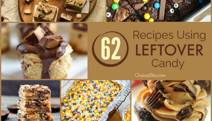 62 Recipes Using Leftover Candy