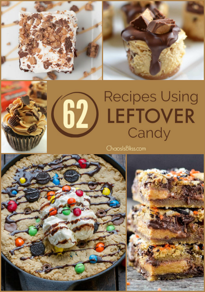 Recipes using leftover candy
