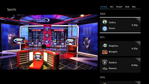X1 Sports App launch