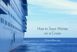 Family Travel | How to Save Money on a Cruise
