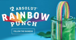 Applebees rainbow punch