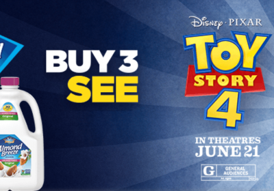 Almond Breeze Toy Story 4