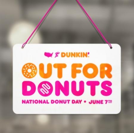 Dunkin national donut day