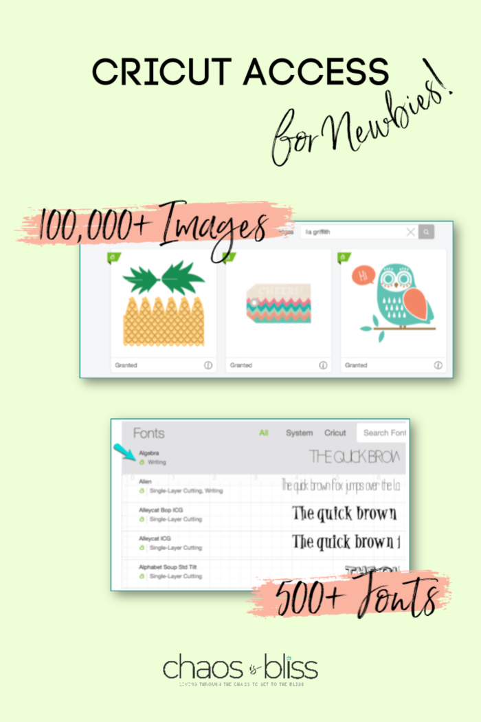 When you want to DIY it the easy way, having a Cricut Access membership is so worth it! Here are tips on Cricut Access for newbies.
